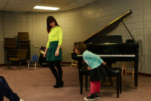 Winter Student Recital at A Child's Song in Thornton, Colorado.